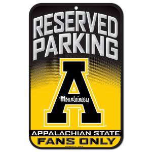 Appalachian State Parking Sign