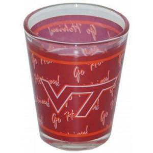 Virginia Tech shot glass