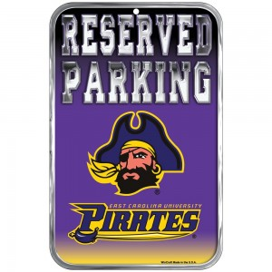 East Carolina Parking Sign