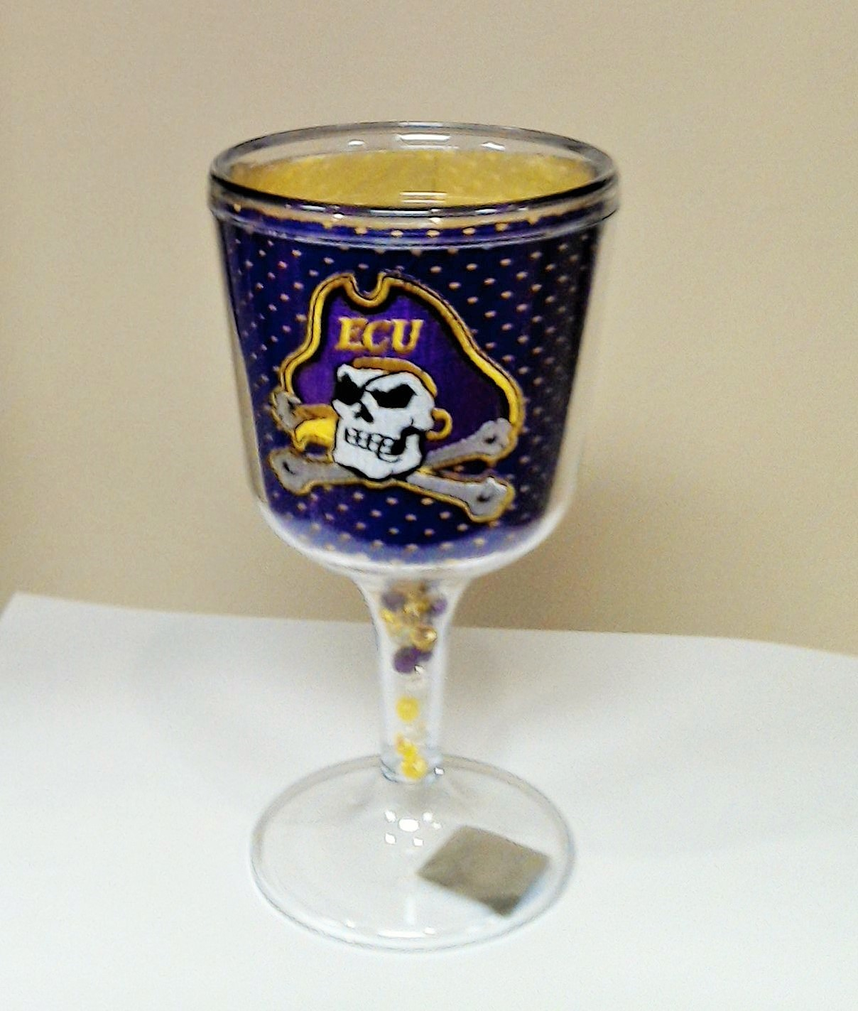 East Carolina Goblet - jersey pattern