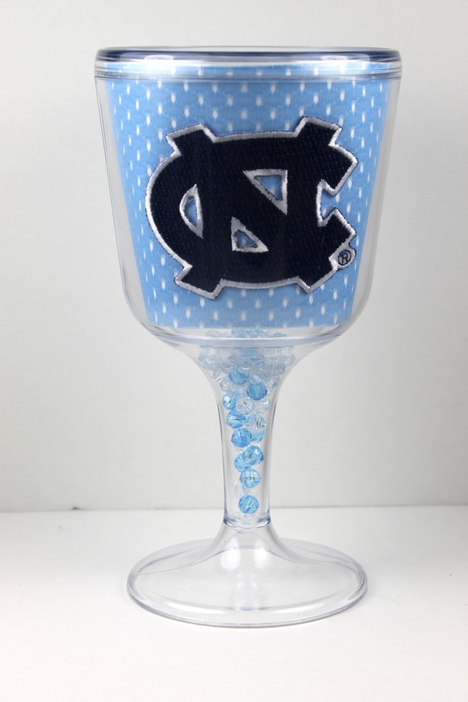 North Carolina goblet - jersey pattern