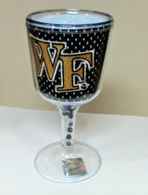 Wake Forest Goblet - jersey pattern
