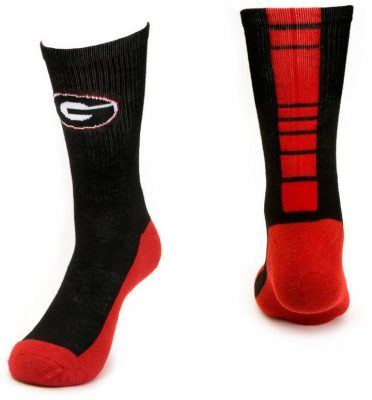 Georgia Bulldogs Crew Socks