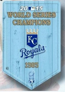 Kansas City Royals World Series Championship Banner