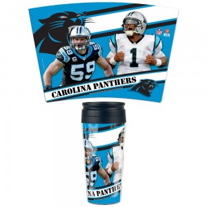 Carolina Panthers Travel Mug