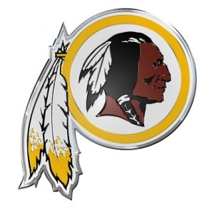 Washington Redskins Car Emblem