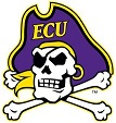 East Carolina Lapel pin