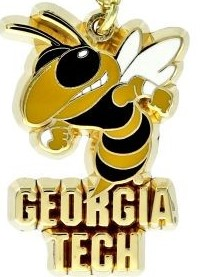 Georgia Tech Lapel pin