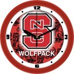 NC State Wall Clock