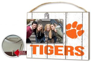 Clemson Clip It Photo Frame