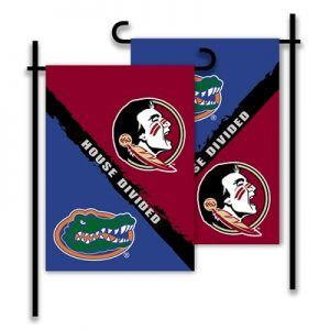 Florida Florida State House Divided Garden Flag