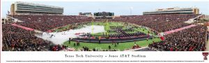 Texas Tech Jones AT&T Stadium Print