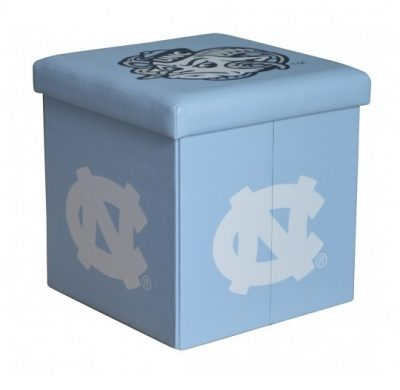 North Carolina Tar Heels Ottoman