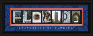 University of Florida Campus Letter Art