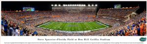 Steve Spurrier-Florida Field Stadium Print