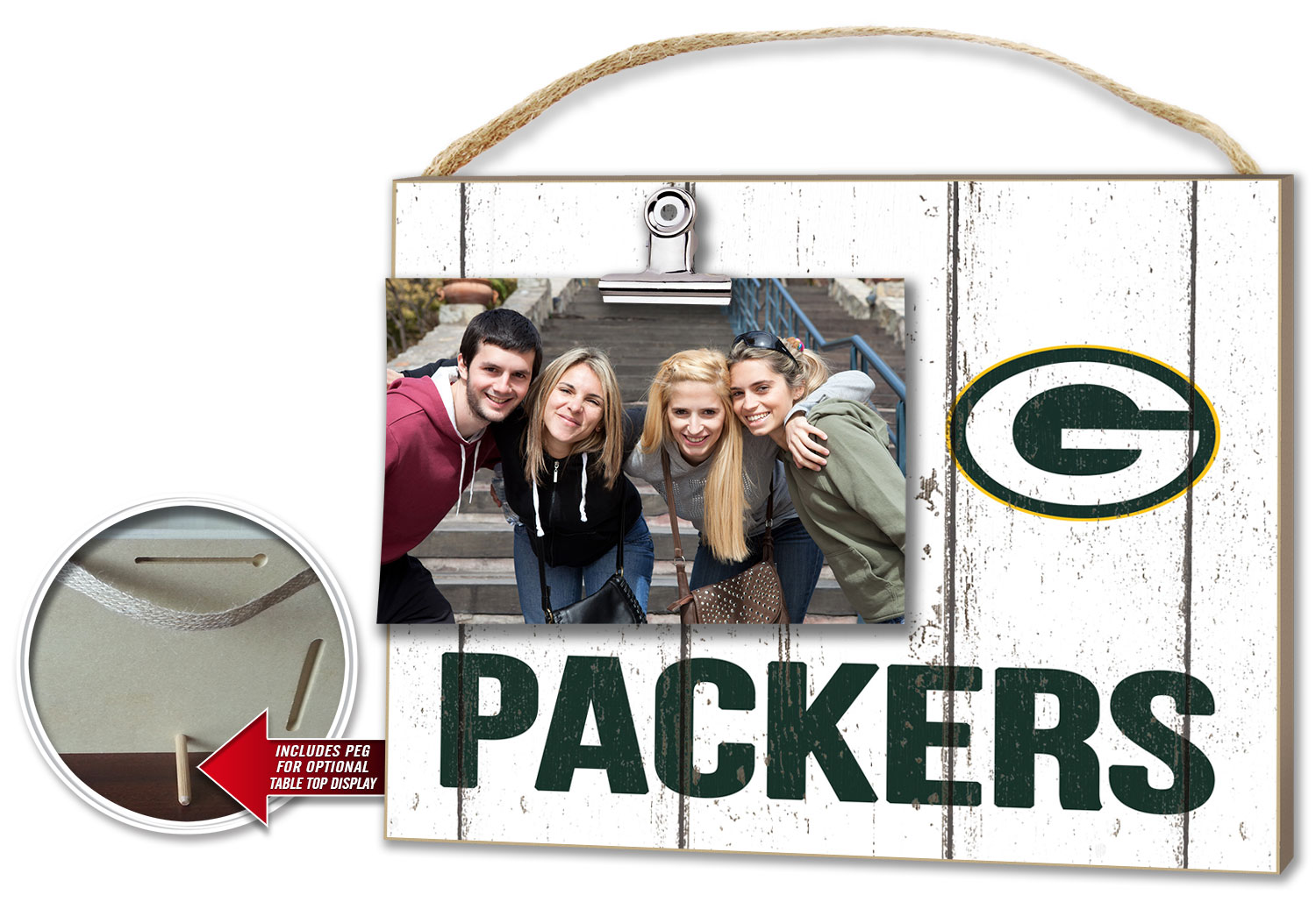 Green Bay Packers Clip-it Photo Frame