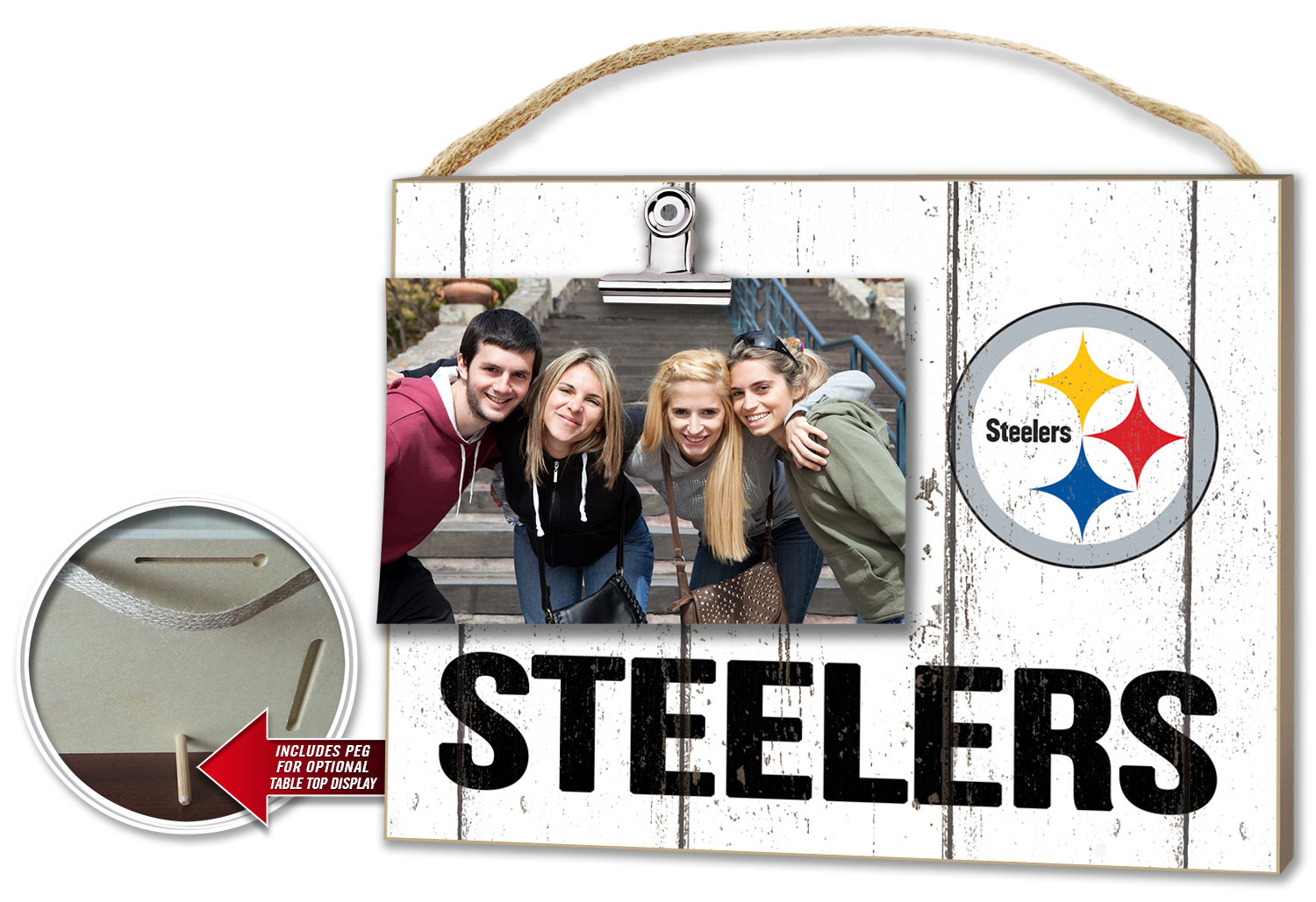 Pittsburgh Steelers Clip-it Photo Frame