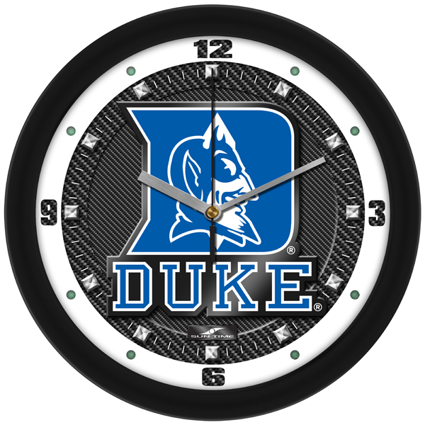 Duke Blue Devils Wall Clock