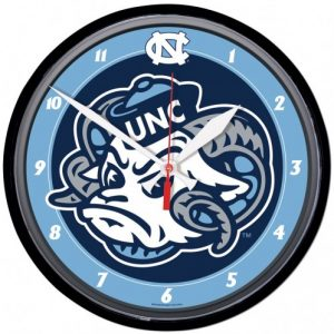 North Carolina Tar Heels Wall Clock