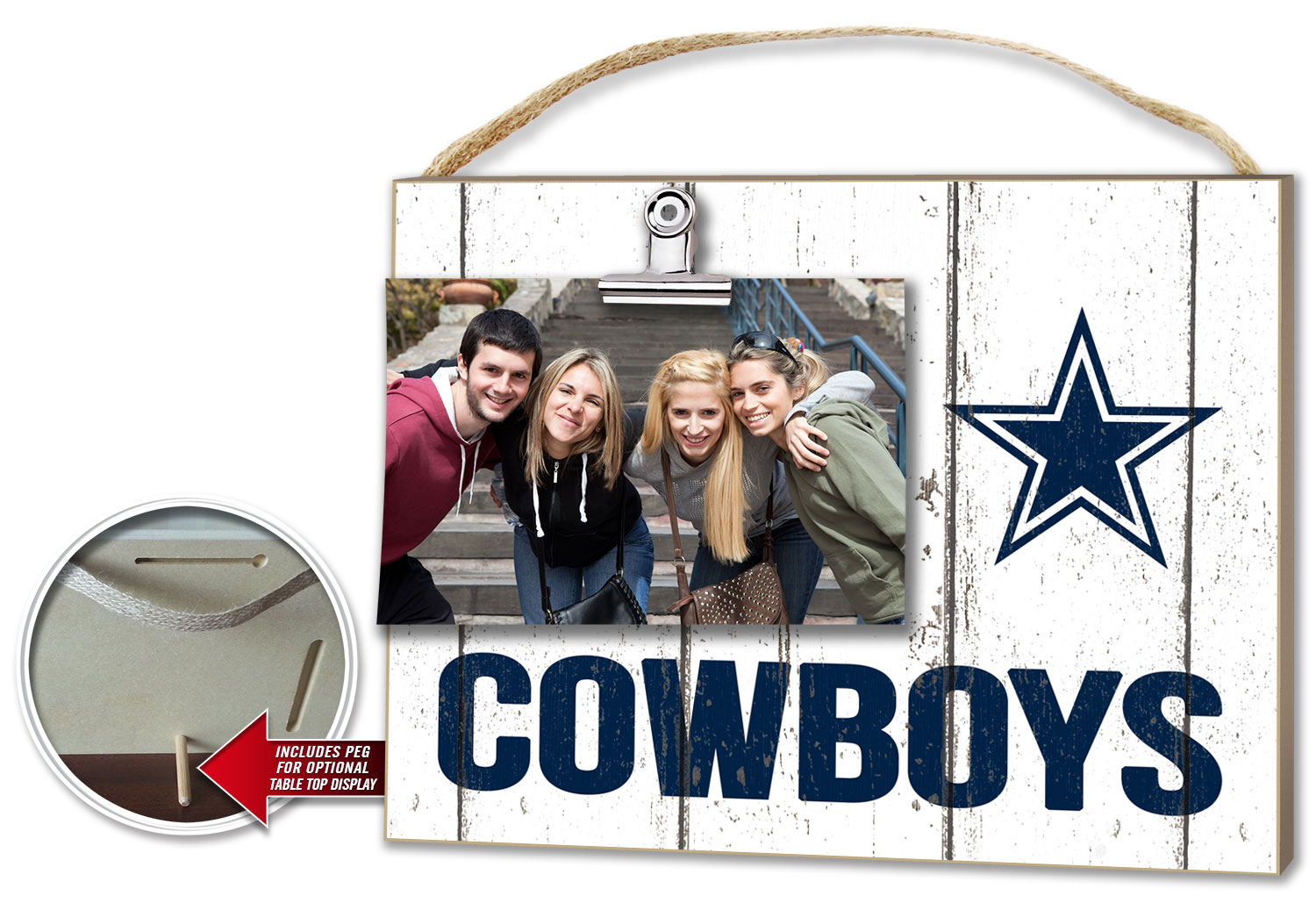 Dallas Cowboys Clip-It Photo Frame