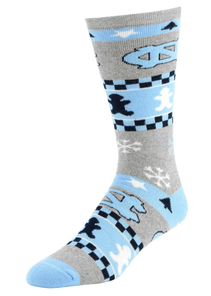 North Carolina Tar Heels Christmas Socks