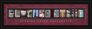 Florida State Campus Letter Art