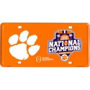 Clemson National Championship license plate