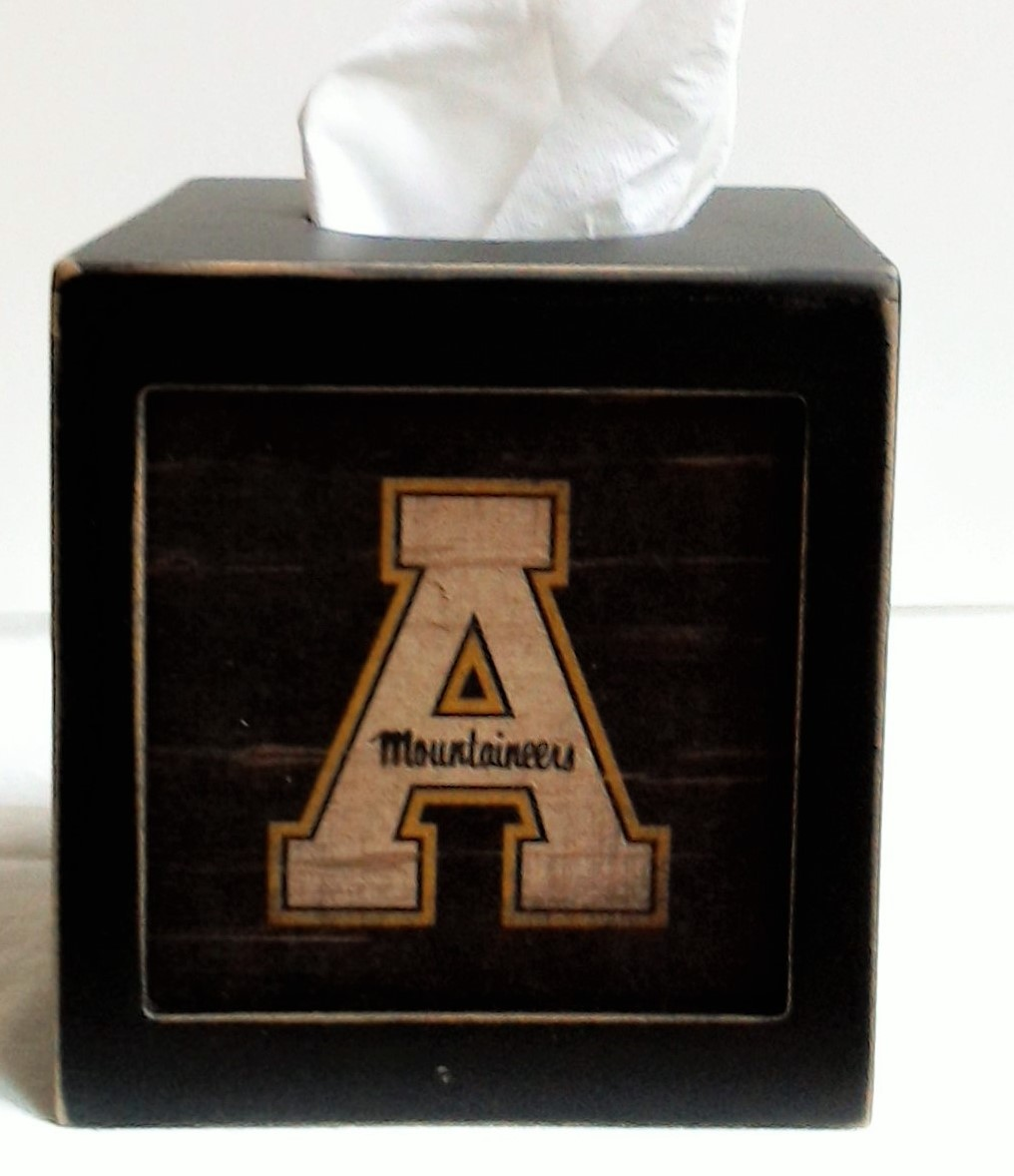 Appalachian State Tissue Box Cover We Re Good Sports