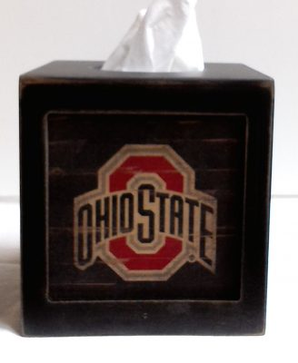 Ohio State Tissue Box Cover