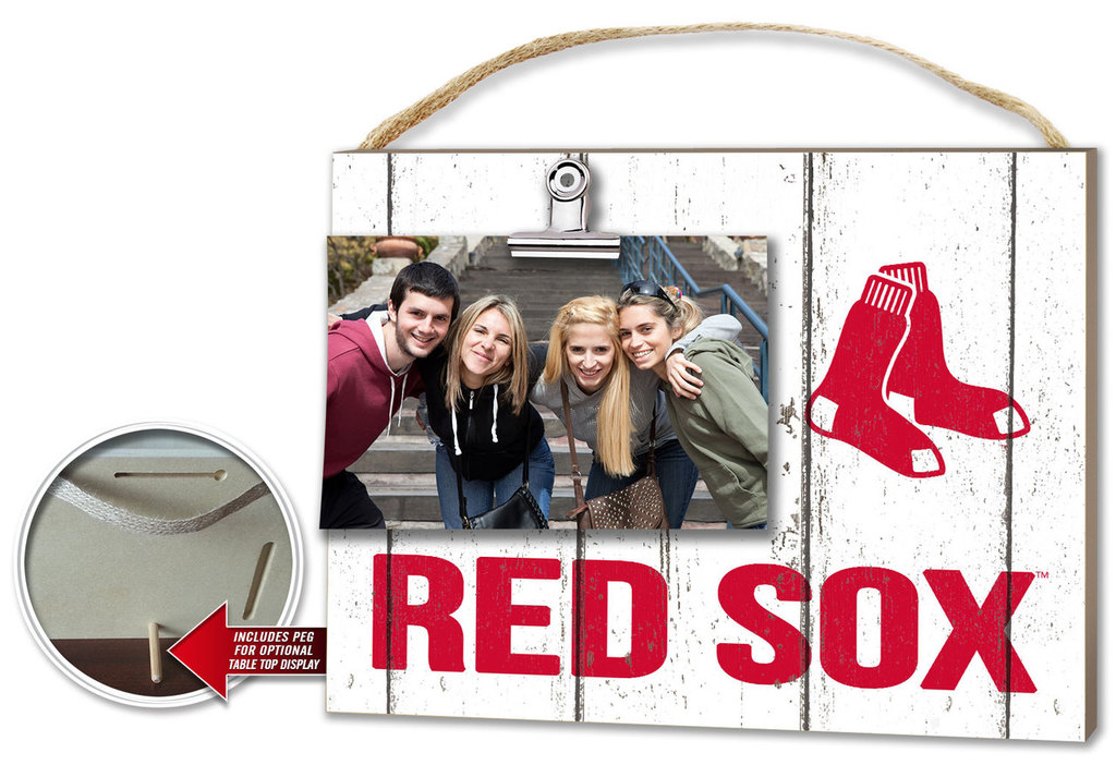 Boston Red Sox Clip It Photo Frame - We\'re Good Sports