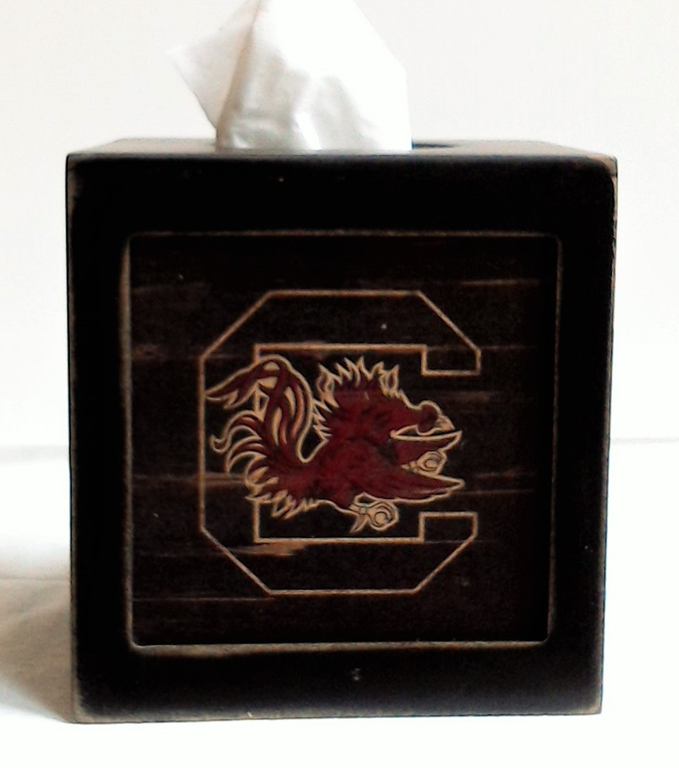 South Carolina Tissue Box Cover
