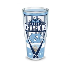 North Carolina Tar Heels National Champions 24 oz Tumbler