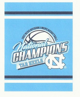 North Carolina Tar Heels National Championship Flag