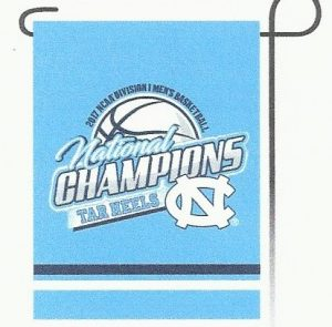 North Carolina National Championship Garden Flag