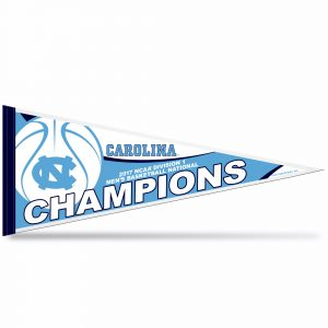 North Carolina Tar Heels National Champions Pennant
