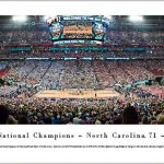 North Carolina National Championship Panoramic Print
