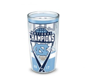 North Carolina Tar Heels National Champions 16 oz Tervis