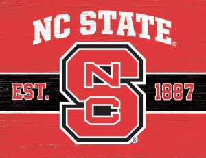 NC State Cutting Board