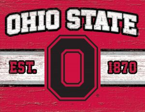 Ohio State Buckeyes Cutting Board