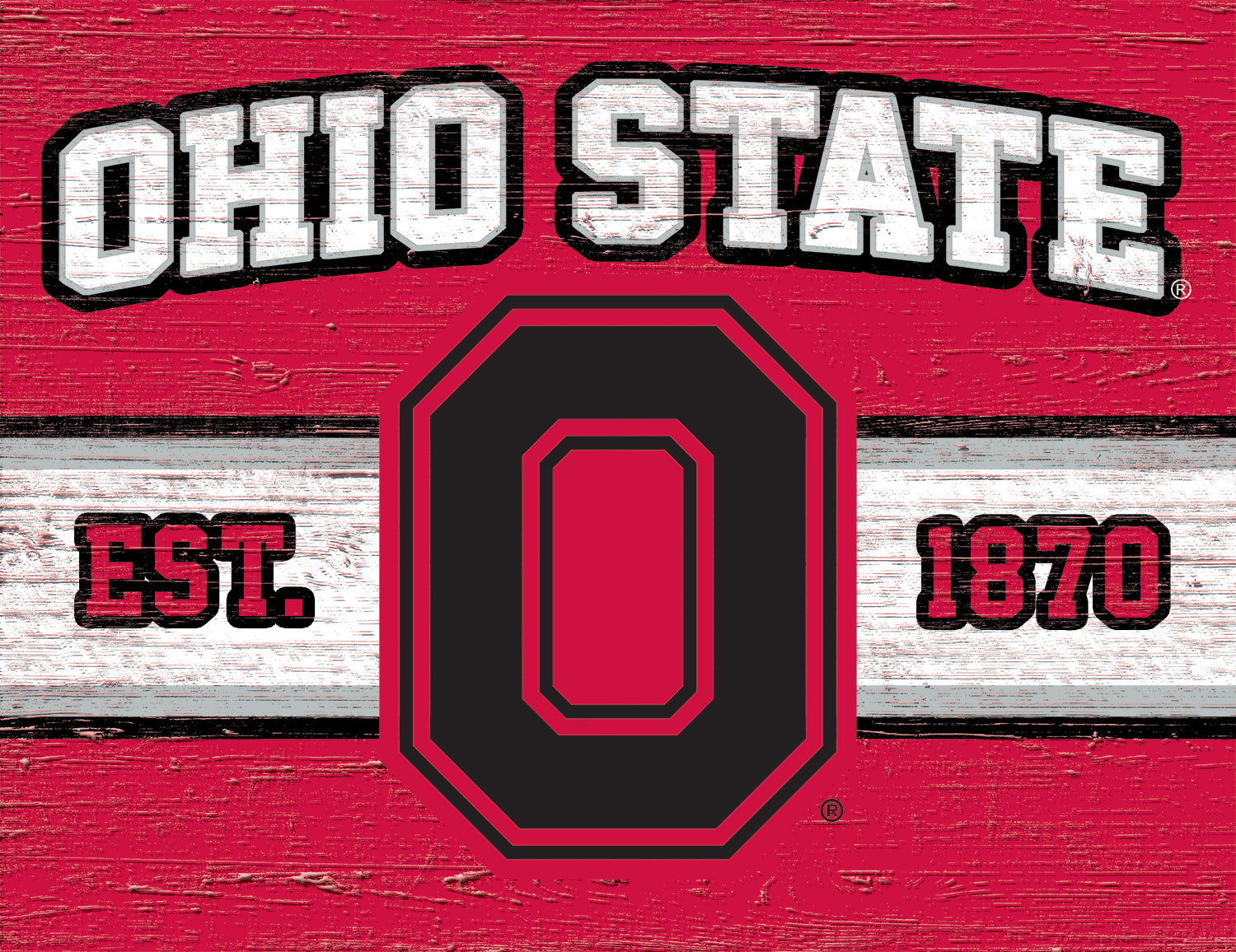 Ohio State Buckeyes Cutting Board We Re Good Sports