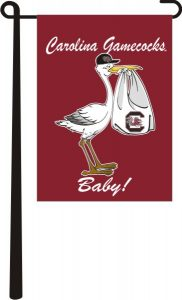 South Carolina Gamecocks Baby Flag