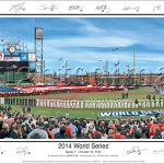 San Francisco Giants World Series 2014 Panoramic Print
