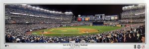 Derek Jeter Last At Bat in Yankee Stadium Panoramic Print