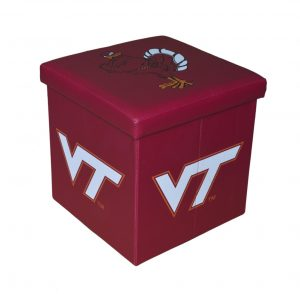 Virginia Tech Ottoman