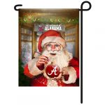 Alabama Crimson Tide Christmas Garden Flag