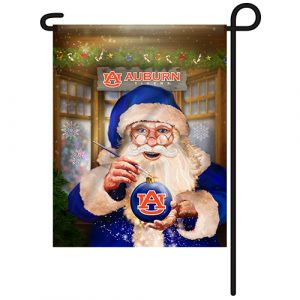 Auburn Tigers Christmas Garden Flag