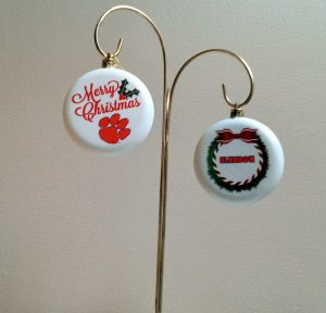 Clemson Tigers Christmas Ornaments