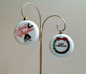 East Carolina Christmas Ornaments