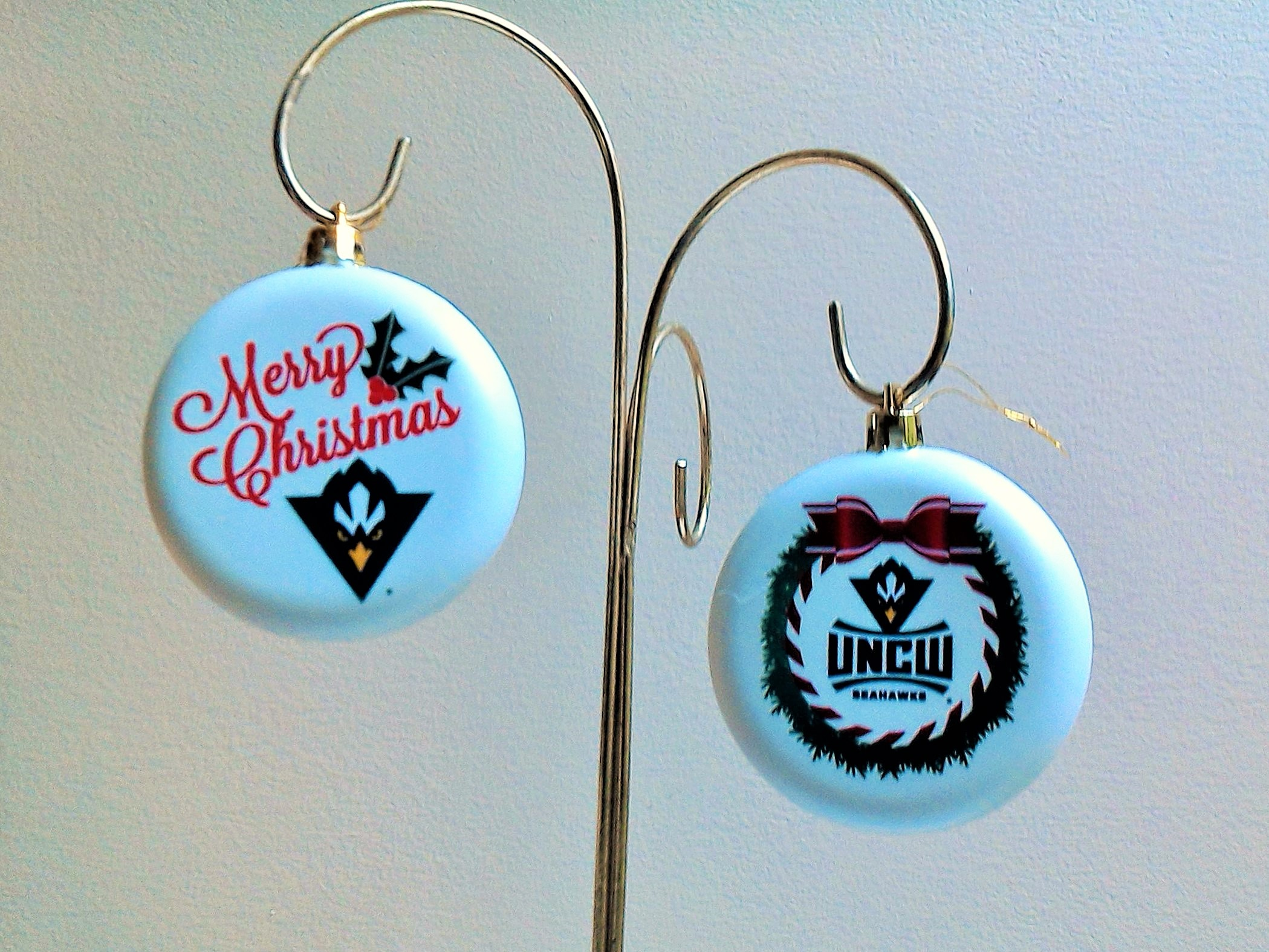 UNC Wilmington Christmas Ornaments