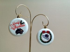 Western Carolina Christmas Ornaments